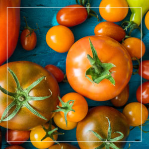 Examples of carotenoids include tomatoes